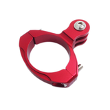 Camera Mount | CNC Aluminium Large Round Mount | Red