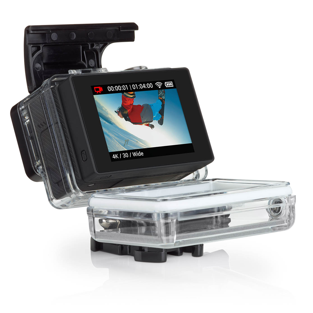 gopro hero 3 hero 3 lcd touch back dunlop kartsport. Black Bedroom Furniture Sets. Home Design Ideas