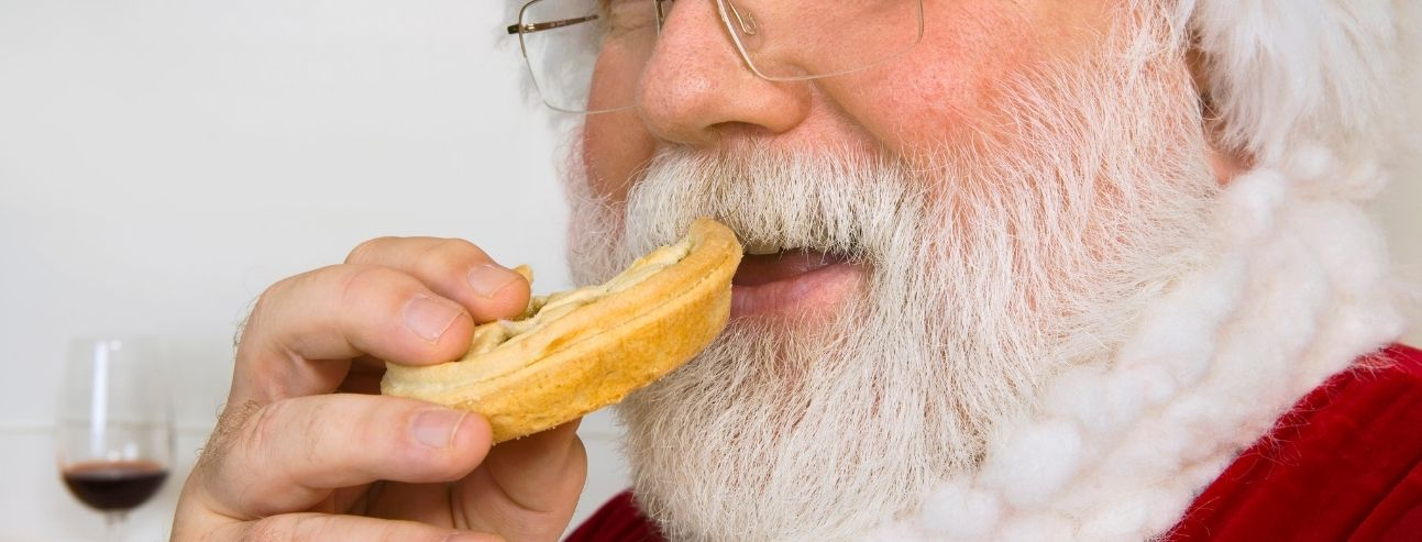 Overeating Holiday Food