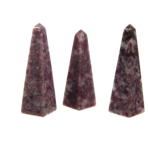 Lepidolite Point Healing Crystals for Depression