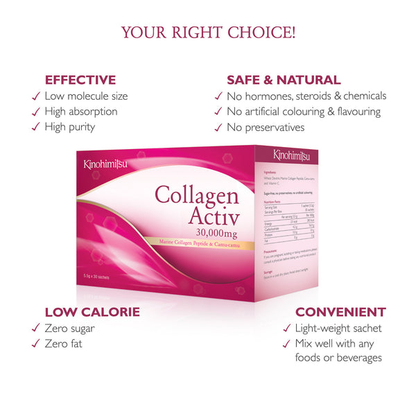 Collagen Activ 30's - Kinohimitsu-Global - 3