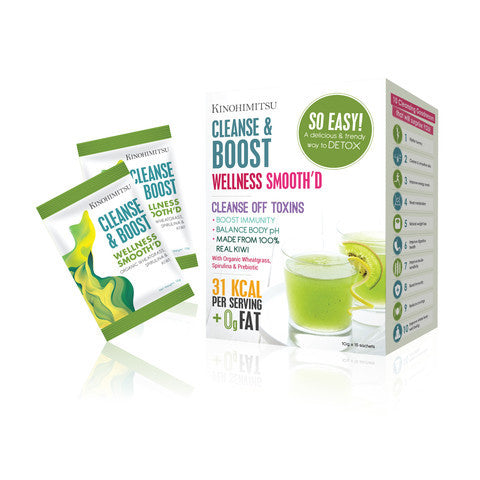 Wellness Smooth'D Cleanse & Boost 15's - Kinohimitsu-Global - 1
