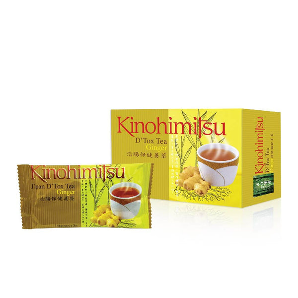 D'Tox Tea Ginger Trial 3's - Kinohimitsu-Global - 1