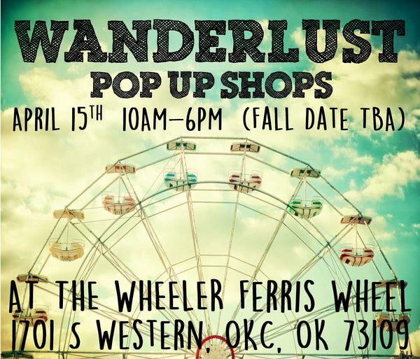 OKC Wanderlust Pop Up Featuring Mode Boutique