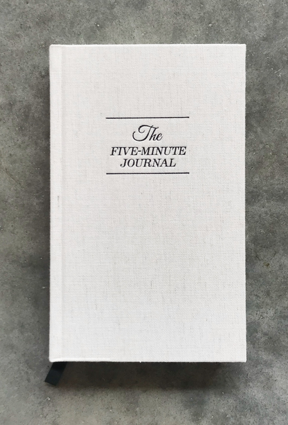five minute gratitude journal