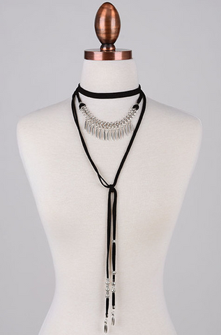 Hantas Choker Necklace Silver