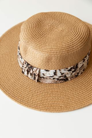 women's animal print hat