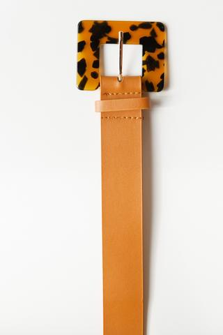 women's animal print belt