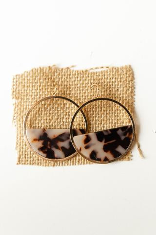 women's animal print earrings