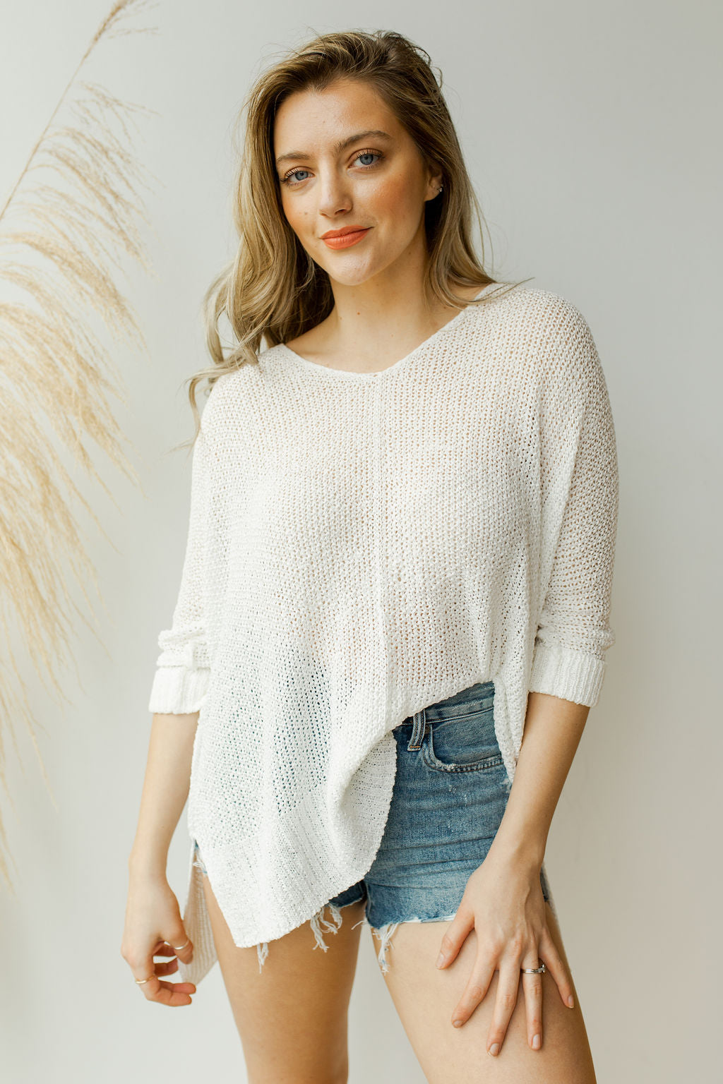 mode, walks by the beach sweater