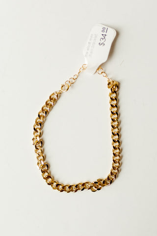 the elliott mini chain bracelet