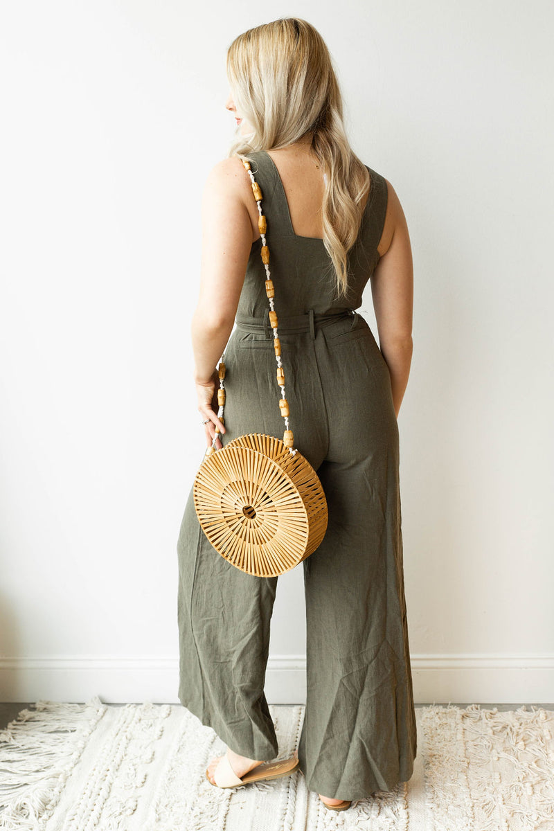 mode, good vibes wide leg jumpsuit