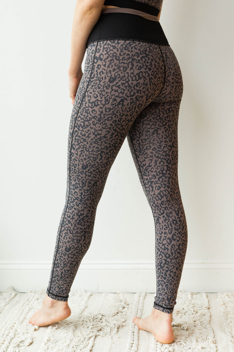 mode, leopard print leggings