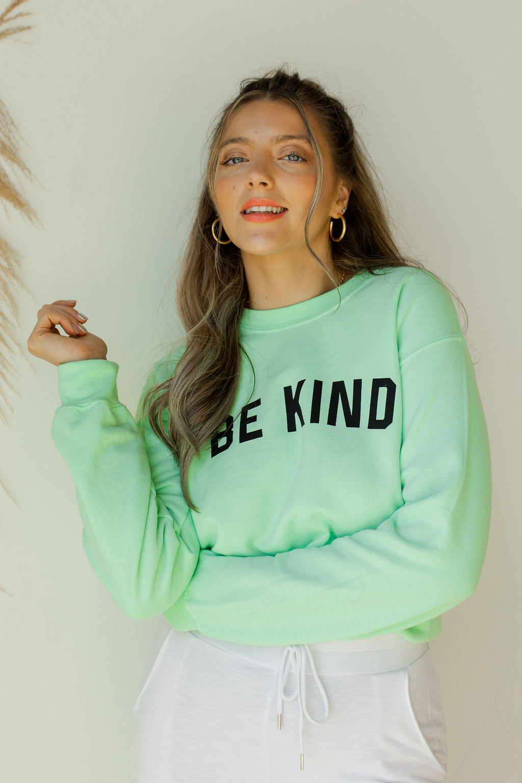 mode, be kind sweatshirt