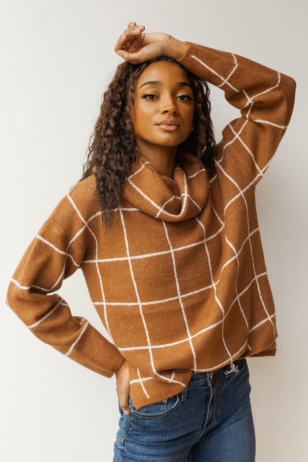mode, off the grid turtleneck sweater