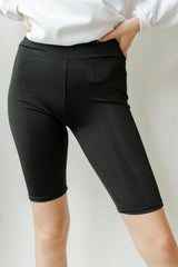 silky smooth biker short