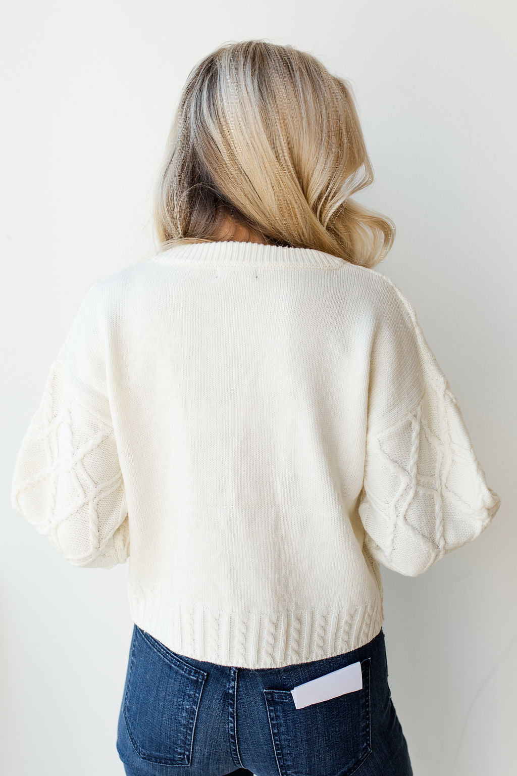 mode, chunky woven sweater