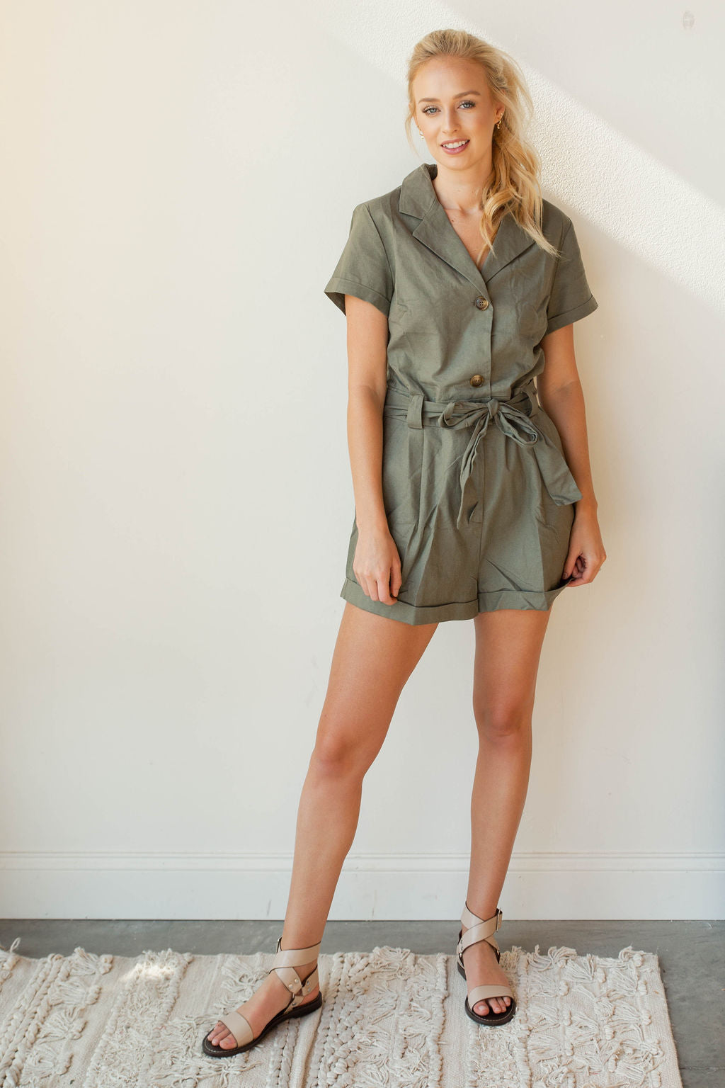 mode, out of time romper