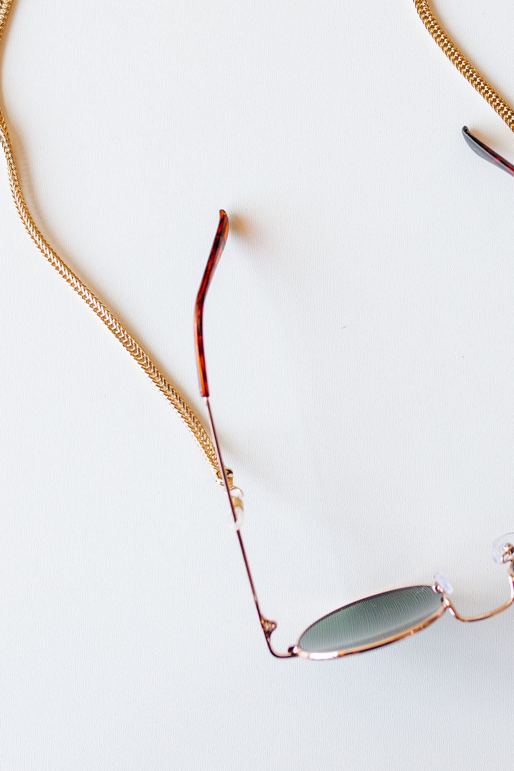 mode, simple sunglass chain