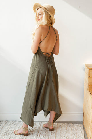 night out middy slip dress