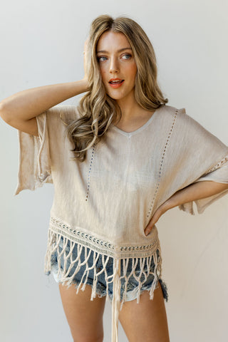 mode, with the wind fringe top