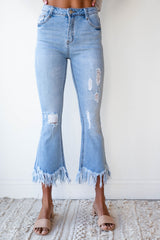[shop name], something extra fringe denim