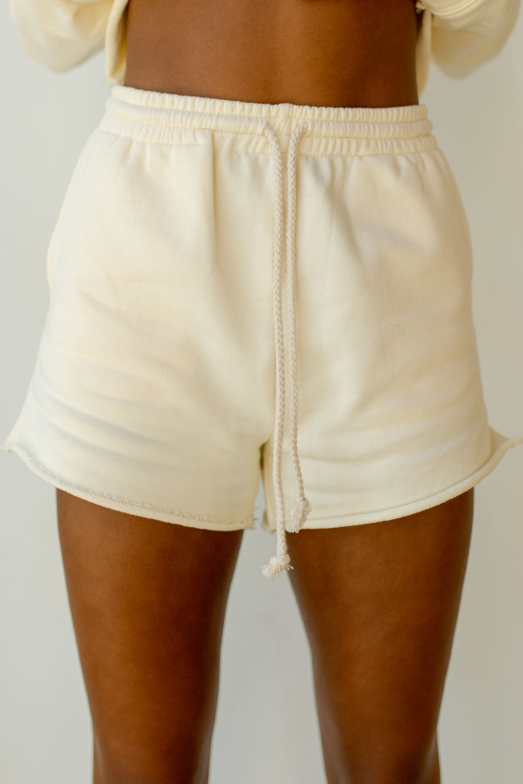 chill fleece set (shorts)