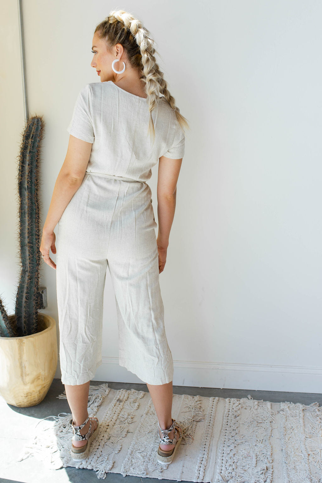 mode, go for miles linen jumpsuit