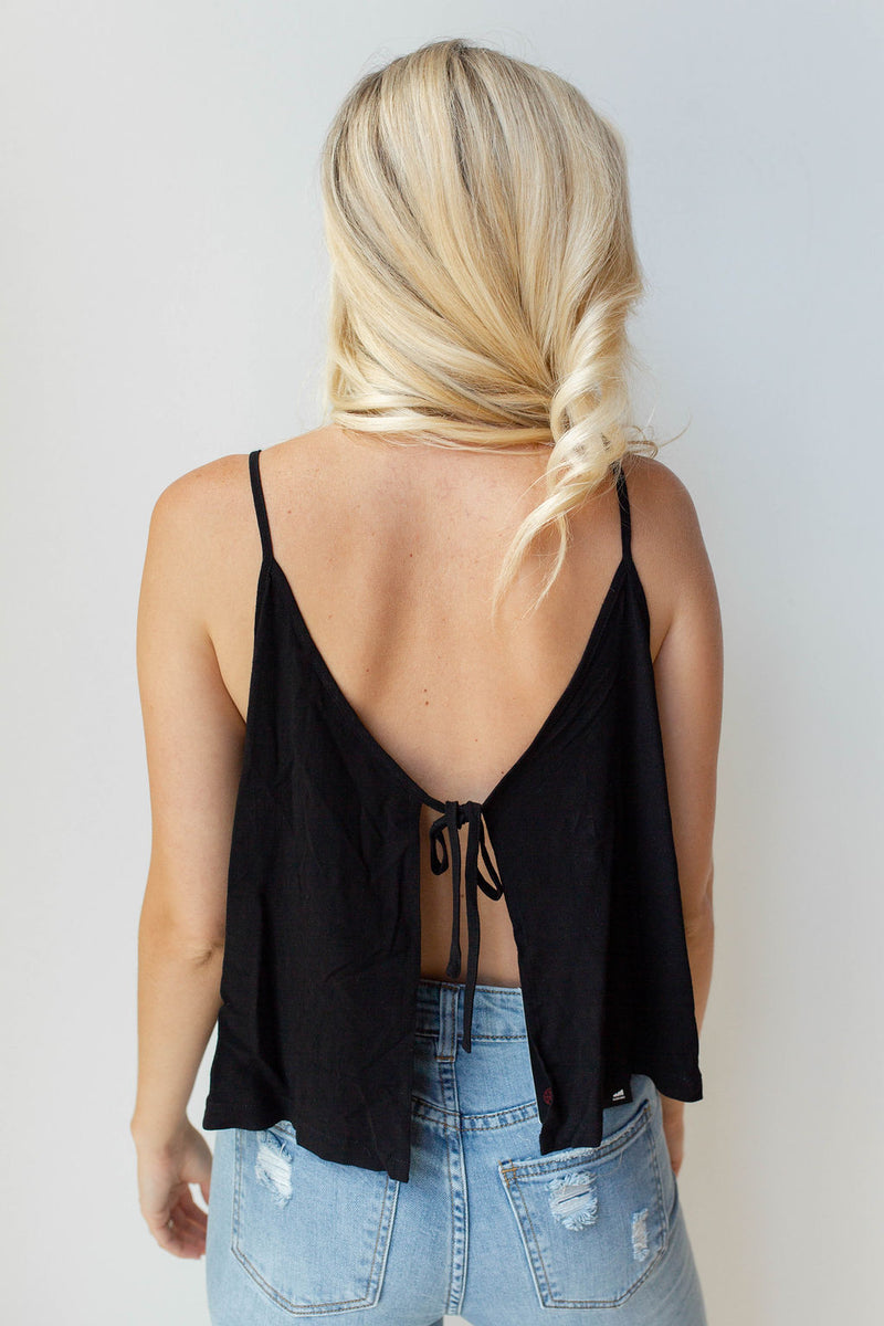mode, all you need open back tie tank