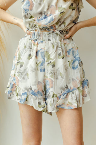 fresh blooms shorts (set)