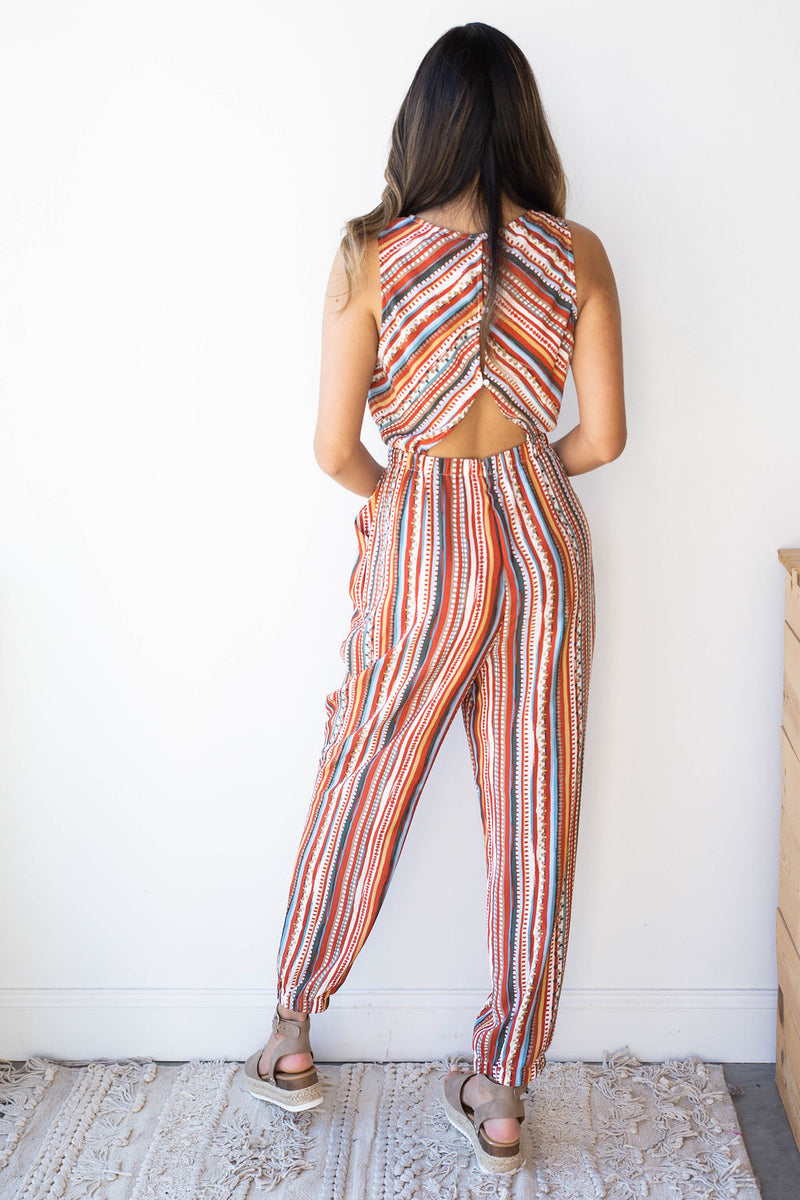 mode, tapered jumpsuit