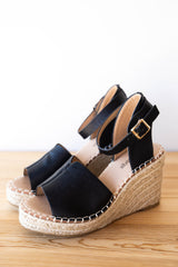[shop name], walk this way wedge sandal