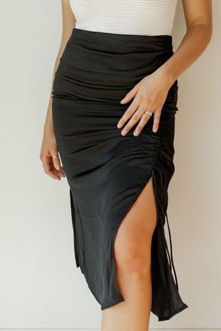 all the love slit dress