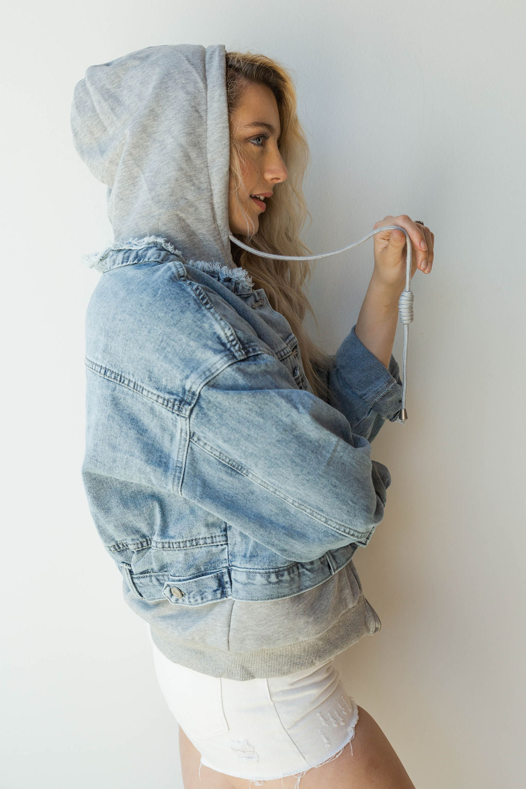 mode, just chill denim jacket