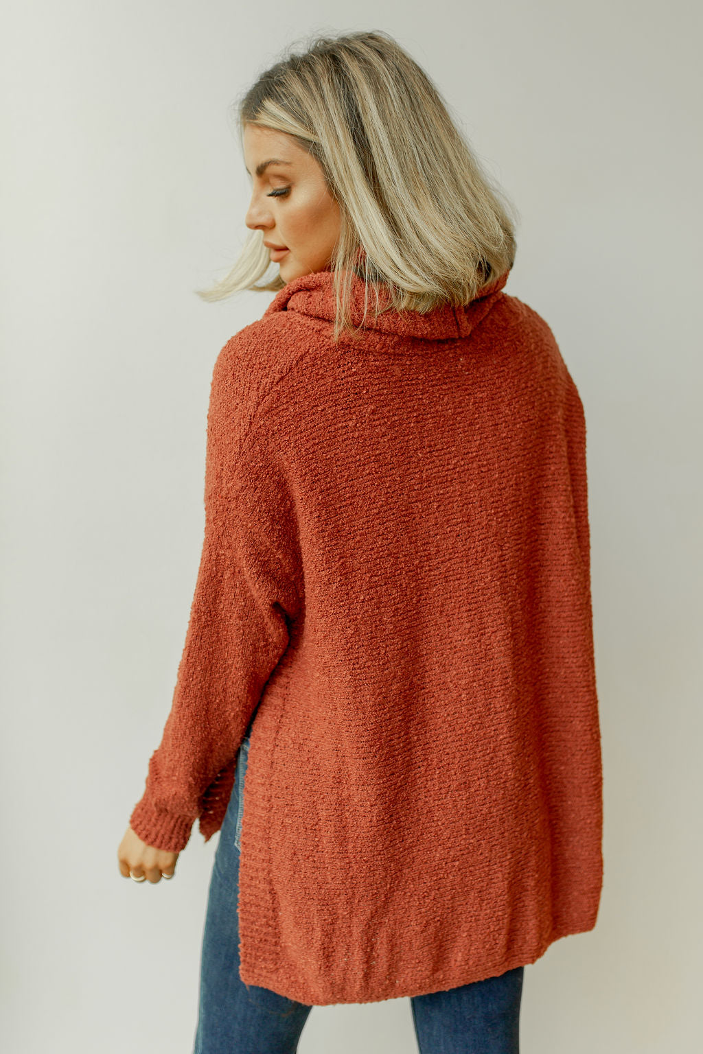 turning leaves sweater