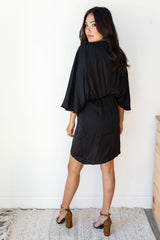 mode, go for it kimono sleeve dress