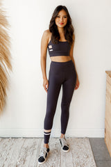 mode, stripe it leggings