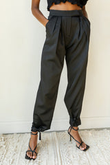 strong ties ankle pant