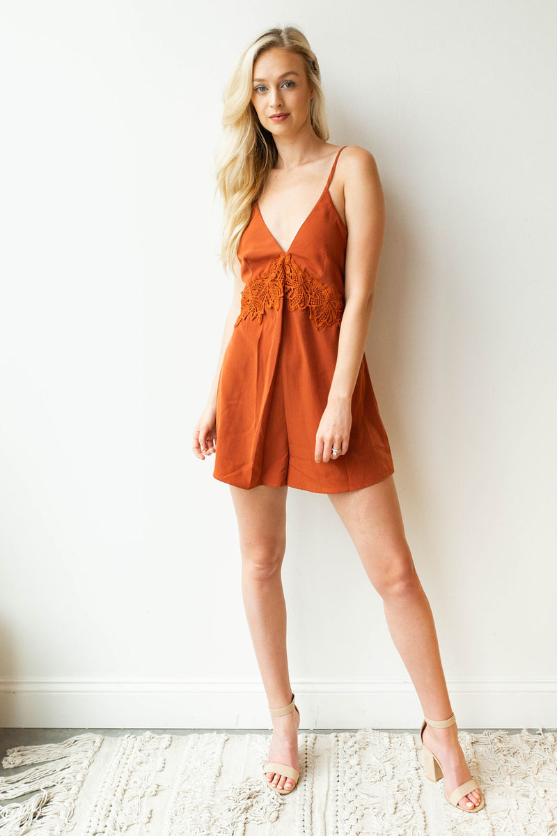 mode, knock it out romper