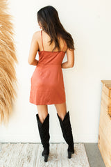 mode, casbah slip dress