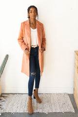 mode, sweet thing long jacket