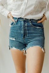 mode, nothing to hide high rise shorts
