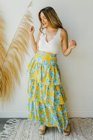 mode, dancing summer nights skirt