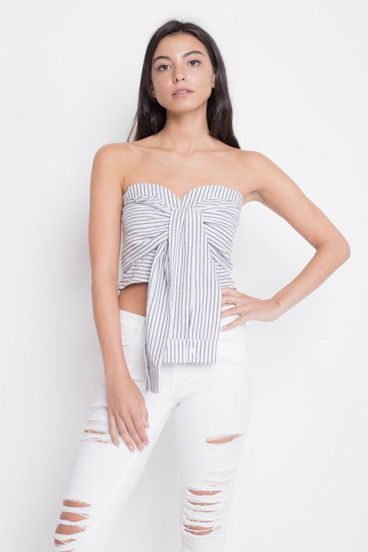 eedy bow top crop