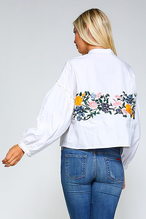 Tira embroidered blouse