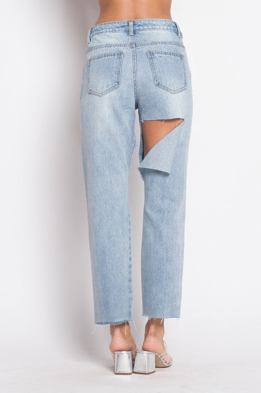 the chop bf jeans