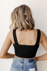 right now thick strap crop
