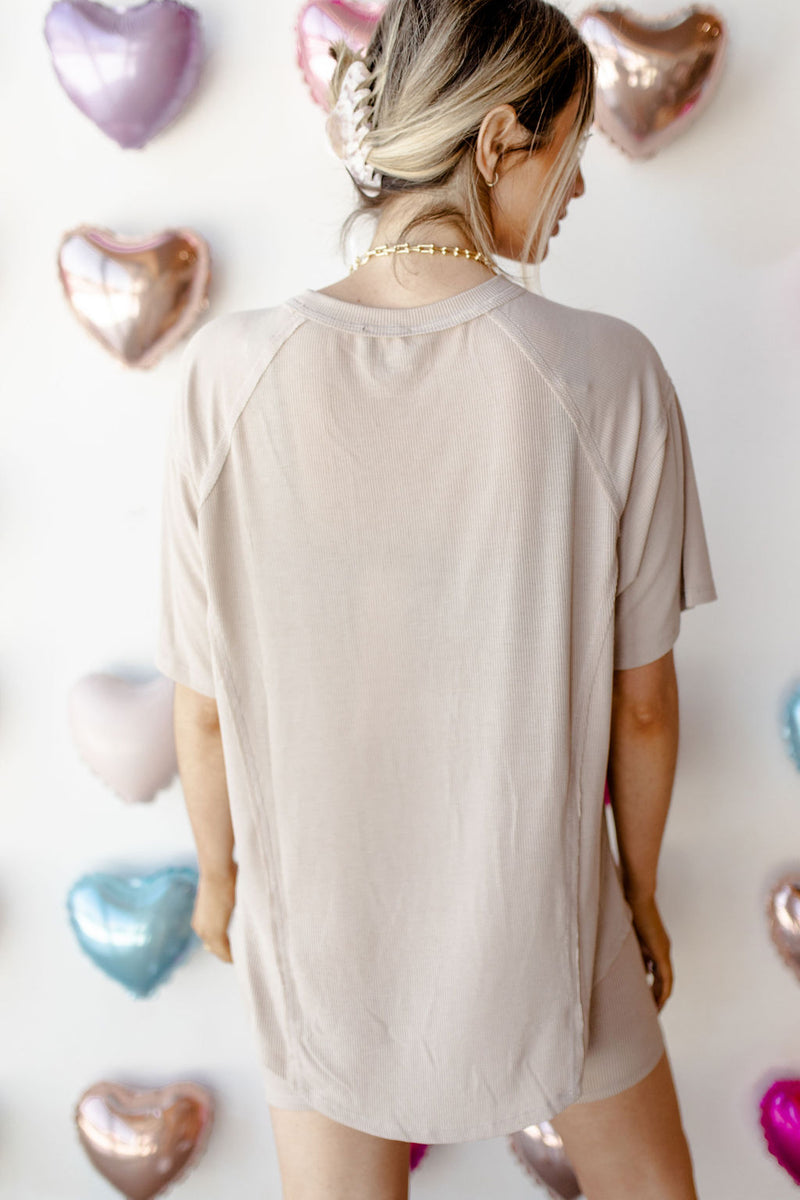 you are my love oversized tee