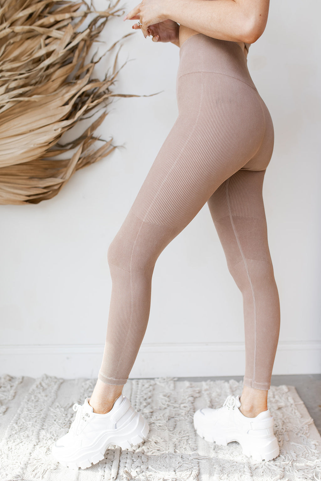 Kari ribbed seamless leggings