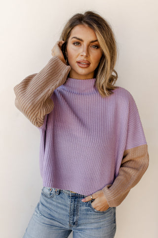 off the grid turtleneck sweater